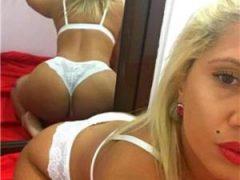Anunturi escorte sexy: Blonda cu forme apetisante militari rezident